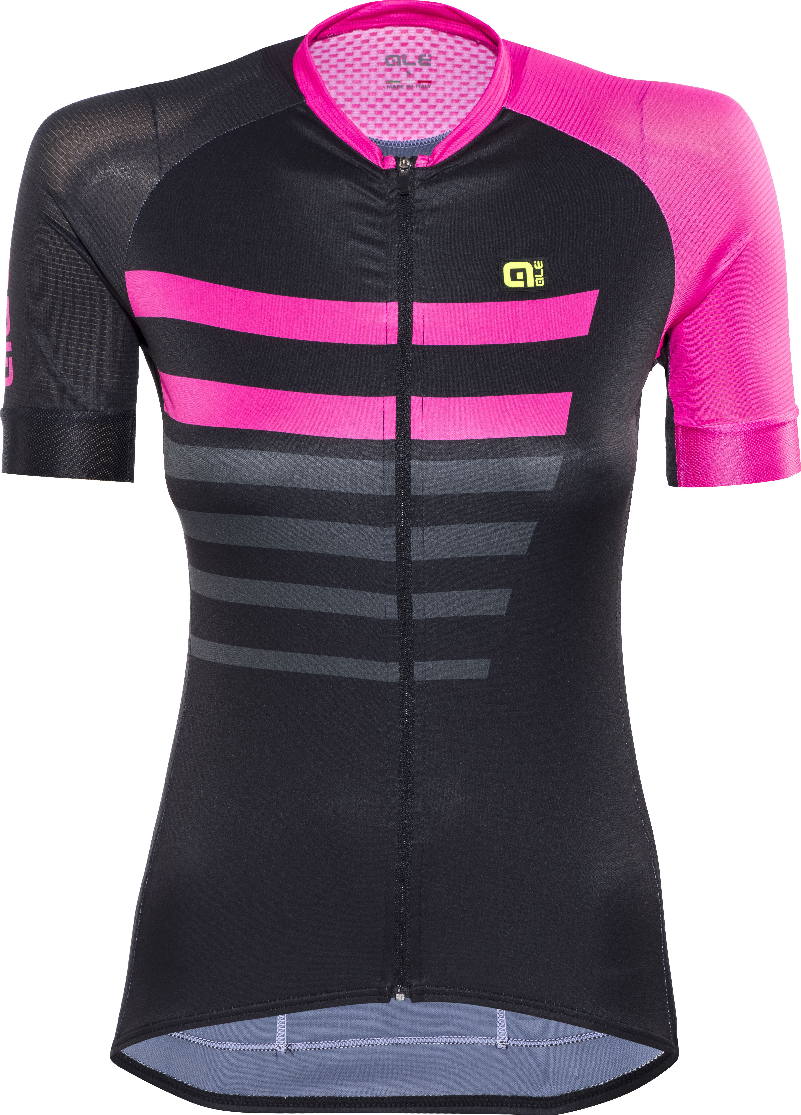Alé Cycling PRR 2.0 Piuma Bike Jersey Shortsleeve Women pink black ... 16c60640c